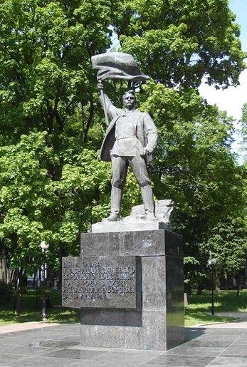 Памятник погибшим рабочим «Арсенала»