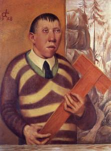 Отто Дикс. Портрет Франца Радзивилла