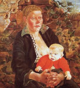 Отто Дикс. Мать с ребёнком