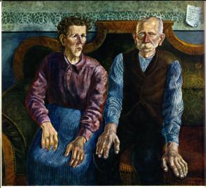 Отто Дикс. Родители художника (II)