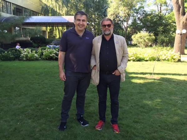 Саакашвили и Гребенщиков