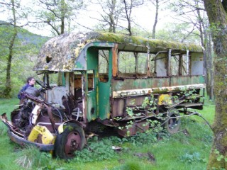 Old bus at Glen Coe