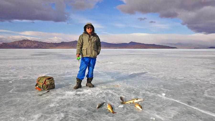 рыбалка в монголии в мае