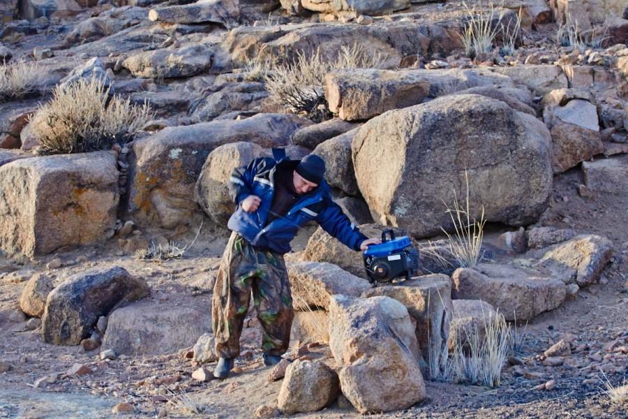 рыбалка в монголии в марте