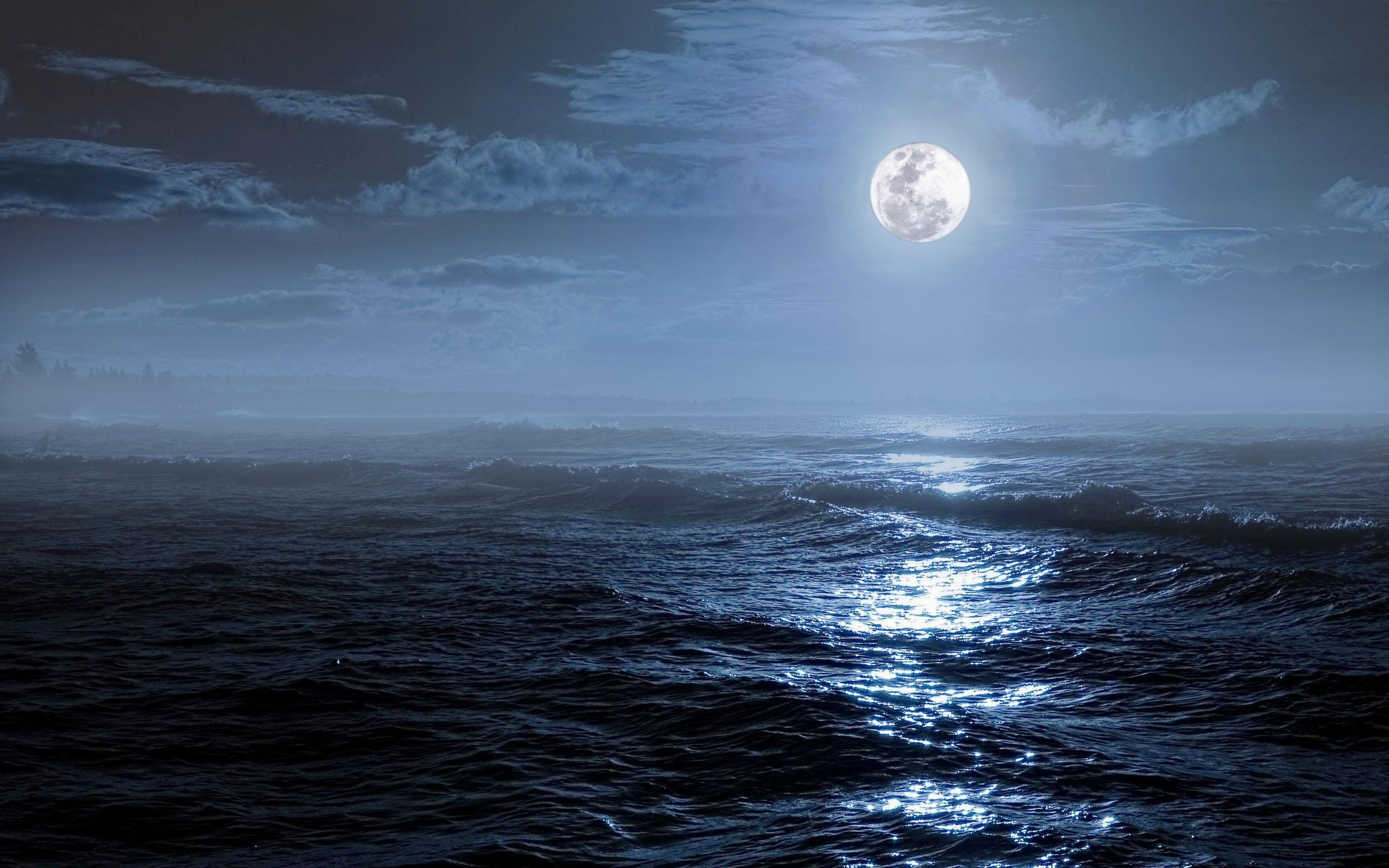 луна и море фото картинки сделанные бревна ручной