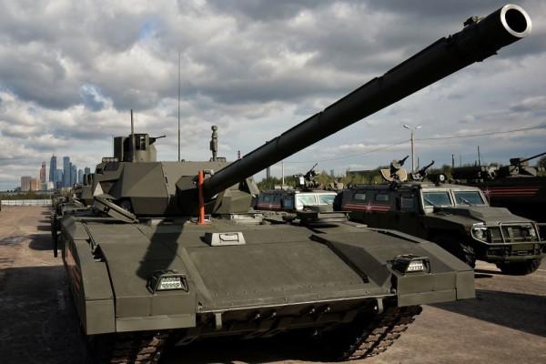Про большие пушки на новых танках.