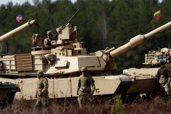 Американский водевиль с танковым батальоном в Литве