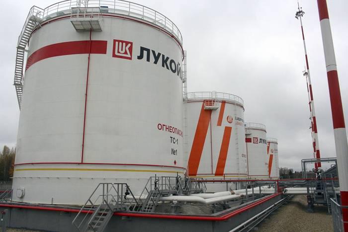 Вертикальные резервуары хранения топлива