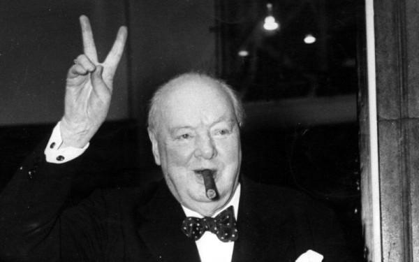 Уинстон Черчилль, премьер-министр Великобритании