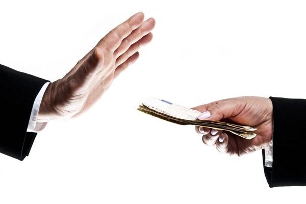 Отказаться от денег