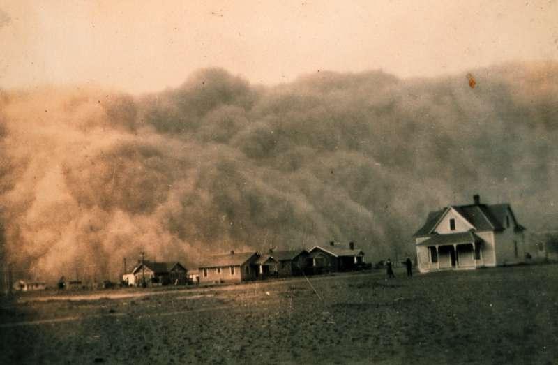Пыльная буря в Америке