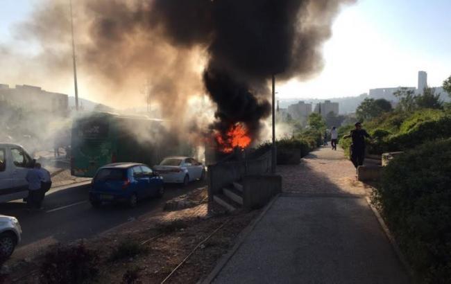 Террорист ХАМАС взорвал автобус с мирными жителями в Иерусалиме