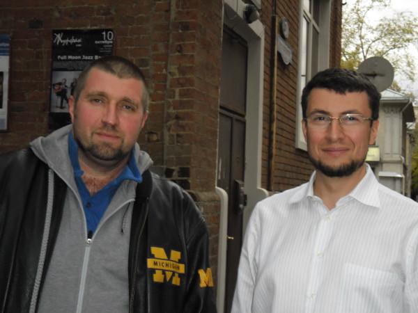 Дмитрий Потапенко и Александр Левитас