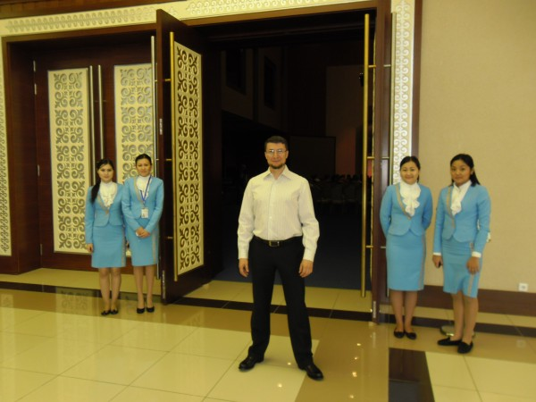 В Астане - выступаю на Евразийском Саммите Деловых Женщин