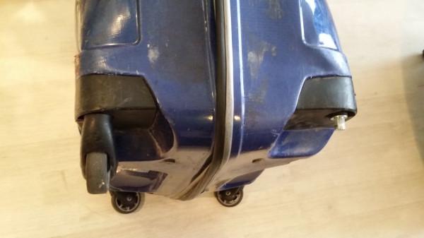 Раздолбанный чемодан