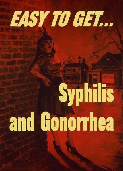 Их легко поиметь - сифилис и гонорею