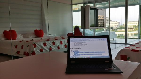 Моё рабочее место - номер в гостинице Adam and Eve в Анталии