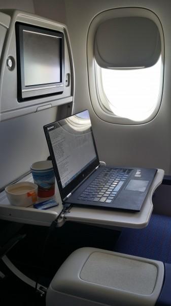 Моё рабочее место - на борту Боинга-777