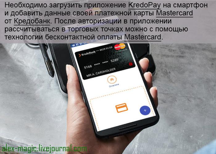 Мобильный кошелек KredoPay