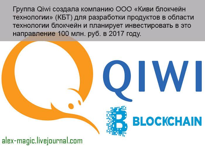 Блокчейн компания QIWI