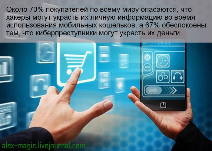 Пользователи не доверяют мобильным кошелькам