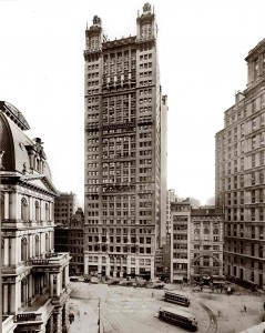 Park Row Building - фото 1912 года