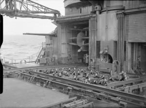 HMS King George V - landing party training 1