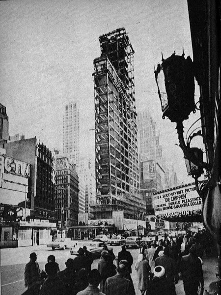 Times Square One -Stripped 1964
