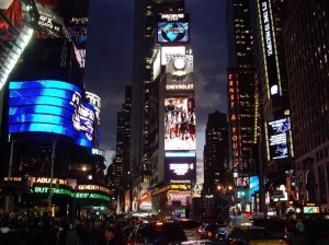 Times Square One  - modern photo
