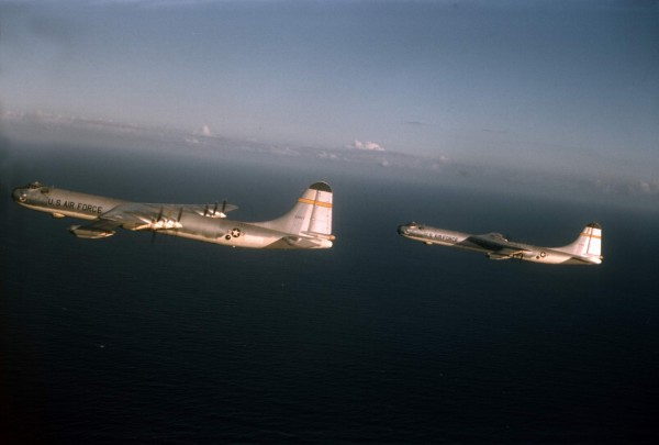 B-36J 52-2827 Heading Home