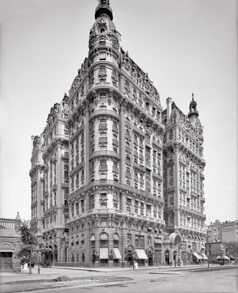 Ansonia Apartments, 1904 год