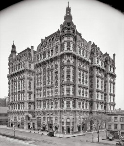 Ansonia Apartments, Broadway, 1906 год