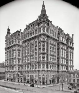 Ansonia Apartments, Broadway, 1906 год