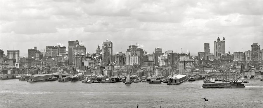Manhattan view - summer_1906