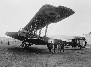 Handley Page O_100 of the Royal Naval Air Service, 1918
