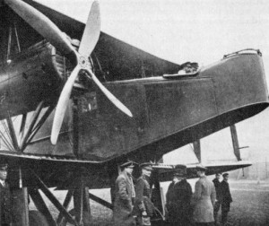 An historic picture, showing King George V in the cockpit of a Handley Page O-100.