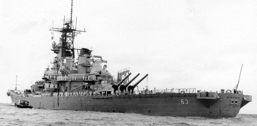 BB-63 USS Missouri - 1980s