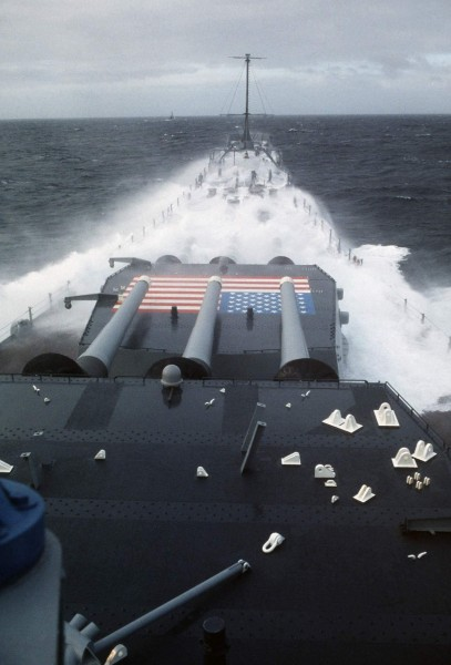 USS Iowa (BB-61) - 1 Sep 1985 - Ocean Safari 85