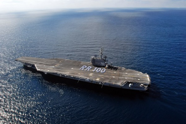 USS Ronald Reagan (CVN-76) - 100