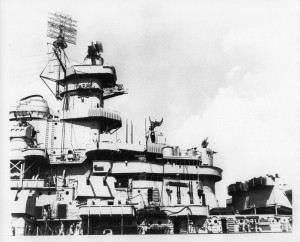 USS Iowa as built