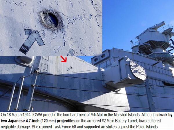 USS Iowa (BB-61) - turret