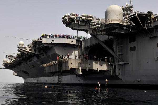 U.S.S. Carl Vinson (CVN 70) March 23, 2012