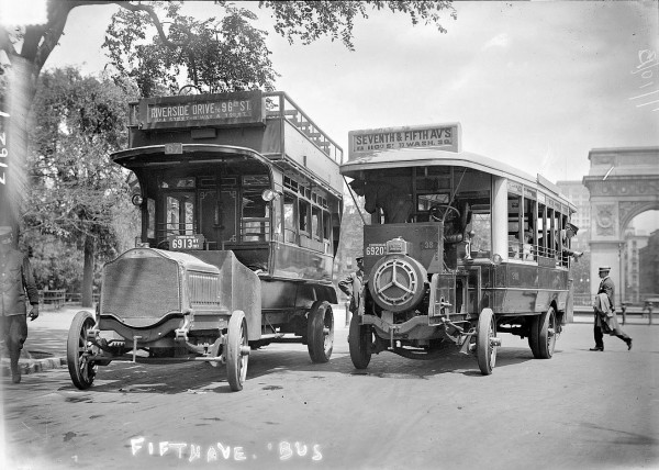 July 10, 1913, New York. Fifth Avenue Omnibus