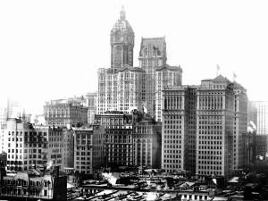 Singer Building, City Investing и Hudson Terminal - фото 1909 года