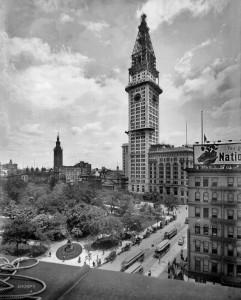 16 июня 1908 г. Идет строительство Met Life Tower