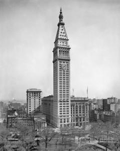 Metropolitan Life Insurance Building и Madison Square, фото 1910 г.