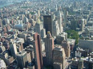 9 июля 2011 г. - вид с 86 этажа Empire State Building