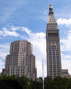Met Life Tower и North Building - современный вид