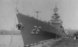 USS Belknap (CG-26) in Odessa, 1994 - 1
