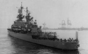 USS Belknap (CG-26) in Odessa, 1994 - 2